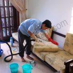 Tự khắc phục tình trạng lực phun hút máy giặt thảm yếu