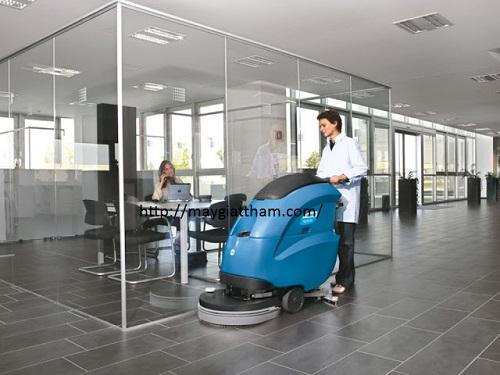 Máy chà sàn liên hợp rất thích hợp cho vệ sinh bệnh viện
