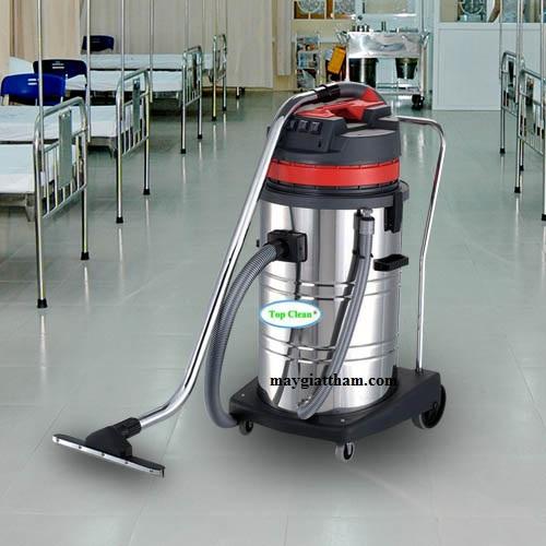 Máy hút bụi TopClean TC 70S phù hợp làm vệ sinh mọi moi trường khác nhau