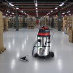 Những không gian rộng nên sử dụng máy hút bụi công nghiệp nào?