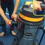 Hướng dẫn người dùng cách lắp ráp máy hút bụi công nghiệp trước khi vận hành
