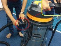 Lắp ráp máy hút bụi công nghiệp đúng cách giúp đảm bảo an toàn khi sử dụng