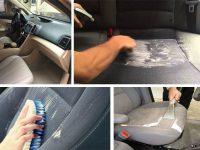 Cách giặt thảm ghế ô tô tại nhà hiệu quả