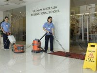 Máy hút bụi công nghiệp là thiết bị vệ sinh được sử dụng ngày càng phổ biến trong trường mầm non