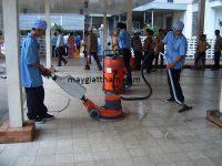 Máy chà sàn liên hợp rất thích hợp vệ sinh cho bệnh viện
