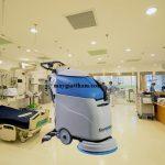 Vì sao bệnh viện thường chọn máy chà sàn Fiorentini?