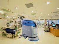 Với hiệu quả làm sạch cao là một trong những lý do máy chà sàn Fiorentini được ư tiên sử dụng trong bệnh viện
