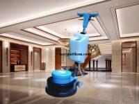 Máy chà sàn Camry sở hữu công suất chà rửa lớn cho khả năng làm sạch hữu hiệu