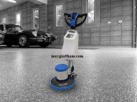 Máy chà sàn Supper Clean SC 002 giúp tiết kiệm thời gian, công sức dọn dẹp