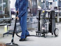 Máy hút bụi nước công nghiệp bền chắc, tuổi thọ máy cao
