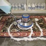 Bí kíp đánh bay vết bẩn trên thảm len bằng máy giặt thảm công nghiệp