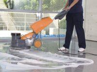 sử dụng máy đánh bóng sàn giúp giảm tải chi phí