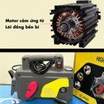 Nên chọn mua máy rửa xe mô tơ chổi than hay mô tơ từ?
