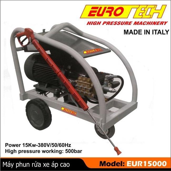 Máy rửa xe Eurotech với nhiều thiết kế