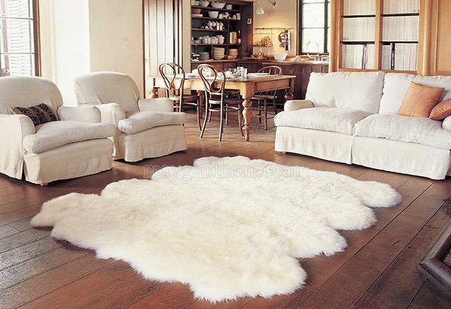 Thảm trải phòng khách