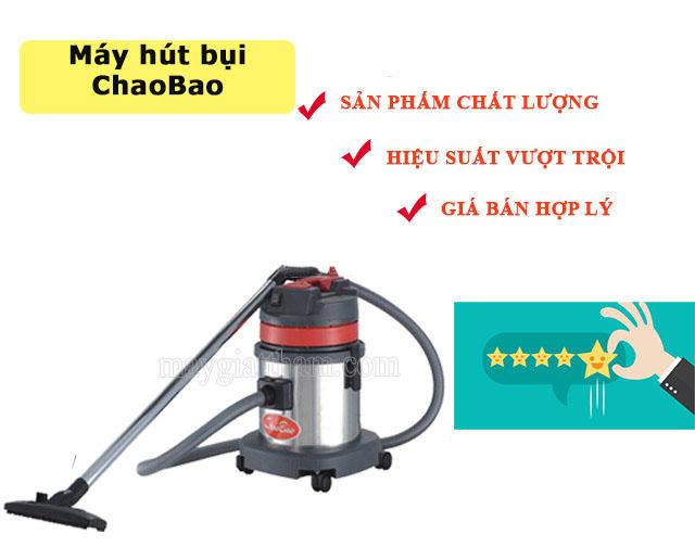 Những ưu điểm nổi mật của máy hút bụi chaobao