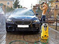 Cách rửa xe đúng cách