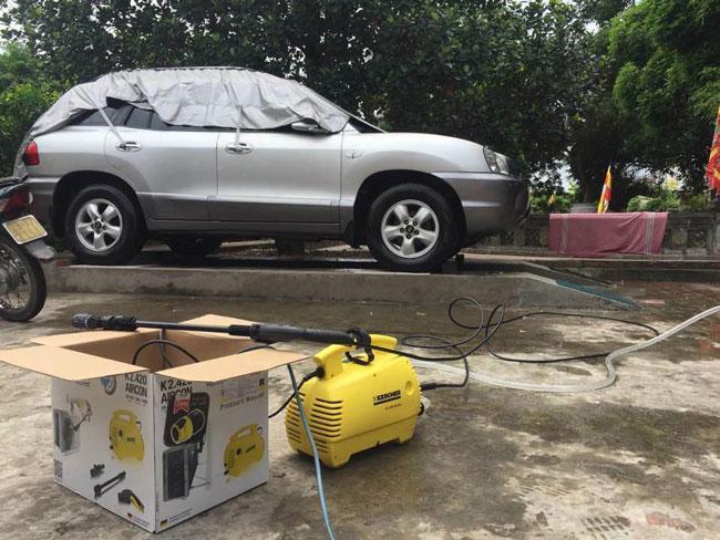Máy rửa xe karcher K2 420