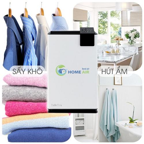 chức năng sấy khô quần áo của máy hút ẩm