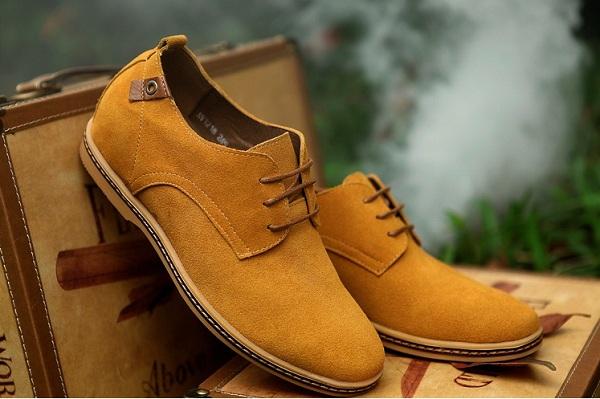 bảo quản giày da lộn ở vị trí khô ráo thoáng mát
