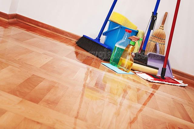 Các dụng cụ cần thiết phải chuẩn bị để dọn nhà