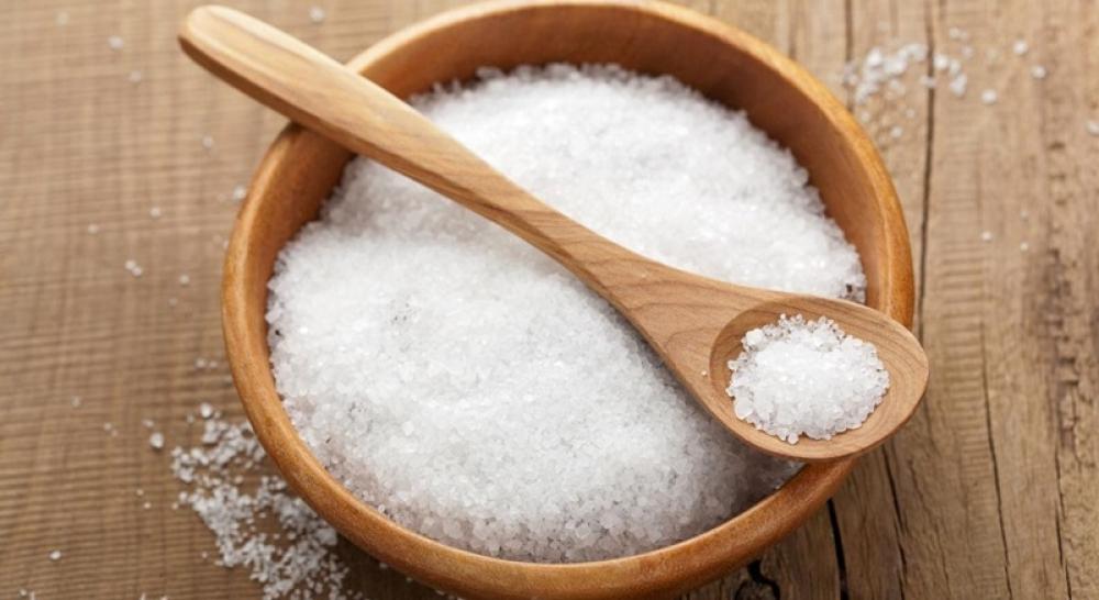 sử dụng muối trắng