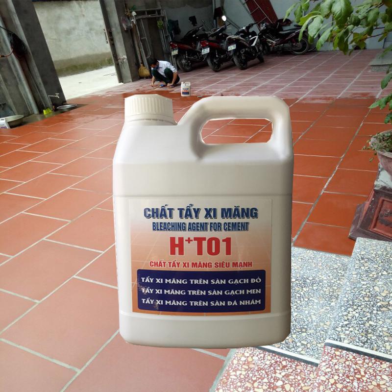 nước tẩy xi măng siêu sạch HT01