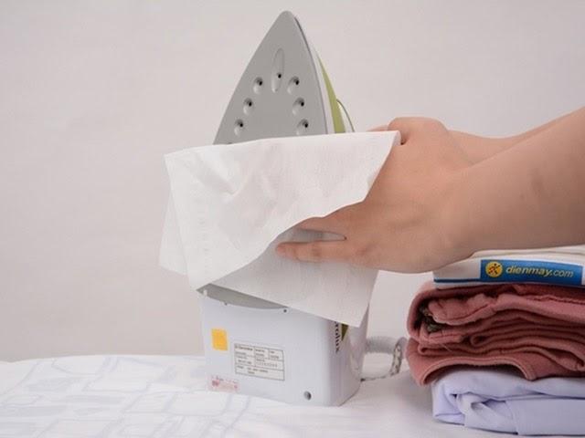 Bàn là- vật dụng không thể thiếu khi vệ sinh thảm nỉ