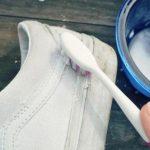 Đánh giày bằng kem đánh răng không phải ai cũng biết
