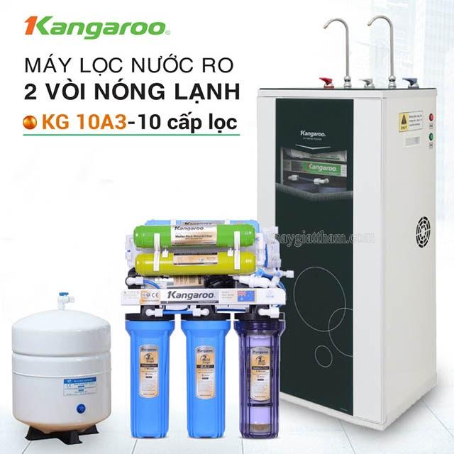 máy lọc nước tích hợp nóng lạnh kangaroo