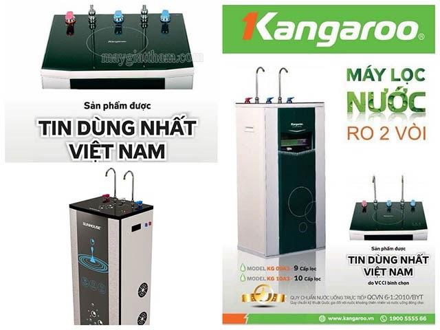 máy lọc nước nóng lạnh kangaroo giá bao nhiêu