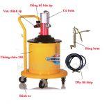 Máy bơm mỡ khí nén là gì? Cấu tạo bơm mỡ khí nén và cách hoạt động