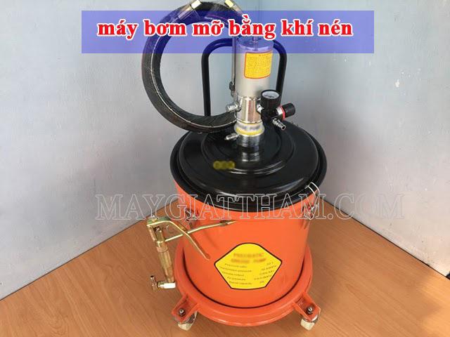 Máy bơm mỡ khí nén được nhiều người sử dụng