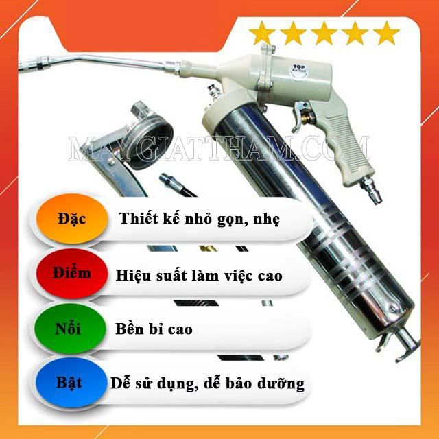 Những điểm nổi bật của máy bơm mỡ mini
