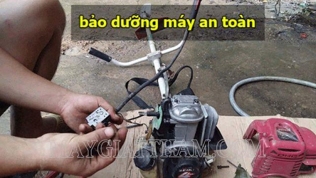 Bảo định kỳ từng bộ phận cho máy