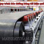 Hướng dẫn quy trình bảo dưỡng băng tải đúng cách và hiệu quả nhất