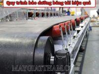 Hướng dẫn quy trình bảo dưỡng băng tải đúng cách