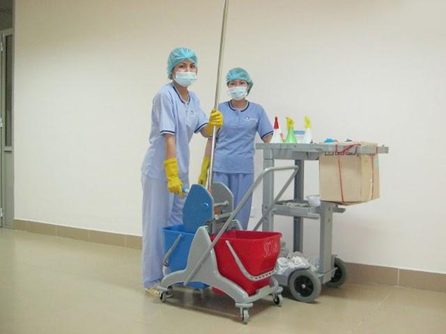 Quy trình vệ sinh bệnh viện cần phải tiến hành cẩn thận