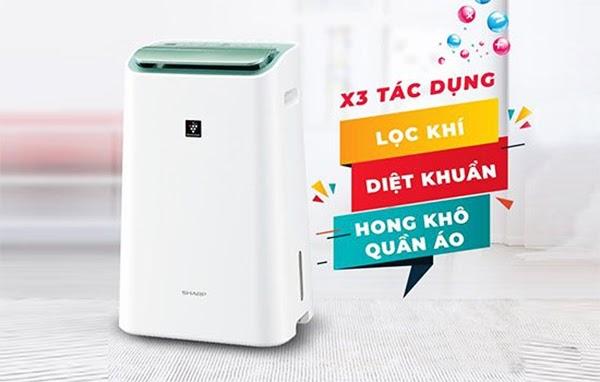 Công dụng của máy hút ẩm cho gia đình
