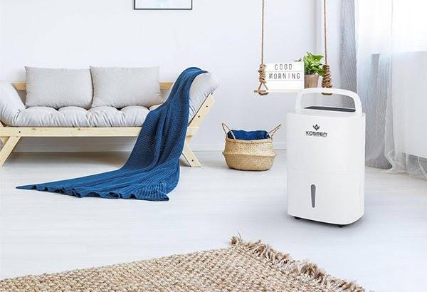 Vì sao nên sử dụng máy hút ẩm gia đình