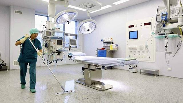 Vệ sinh phòng phẫu thuật đòi hỏi những tiêu chí cao và sự giám sát chặt chẽ
